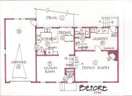 taking on the challenges of remodeling a split level home homes floor plans australia 091709 spaces b