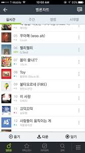 Olleh Chart Chart G Soul Charts Debut 6 In Melon 1 In Olleh And