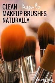 clean your makeup brushes naturally 5
