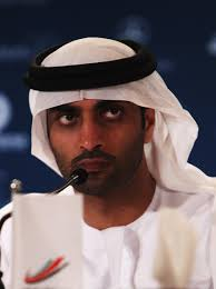 His Excellency Mohammed Ibrahim Al Mahmood, the general secretary of the Abu Dhabi Sports Council during the Abu Dhabi Sports Council/Laureus Welcome Press ... - Laureus%2BWorld%2BSports%2BAwards%2BPress%2BConferences%2BXmXX_yV9reKl