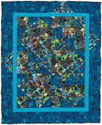 Half square triangle quilt design for big-print fabrics by Sandy ... & Big-Print Patchwork: Quilt Patterns for Large-Scale Prints Adamdwight.com