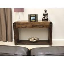 dark wood hall table. Lounge Walnut Narrow Console Table Dark Wood Hall L