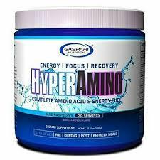 Gaspari <b>Hyper Amino</b> BCAA 30 Servings <b>Complete Amino Acids</b> ...
