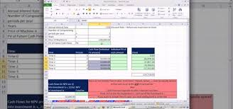 How To Value Assets With Discounted Cash Flow Analysis In Microsoft