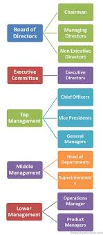 Business Organization Hierarchy Business Hierarchy Structure