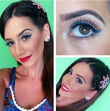 16 patriotic makeup ideas that make red white blue look hot