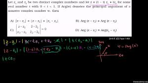 challenging complex numbers problem complex determinant khan academy