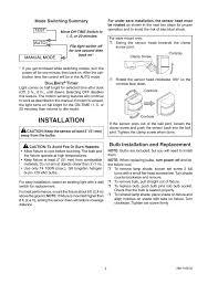 Dual Brite Motion Sensor Light Installation Bulb Installation And Replacement Heath