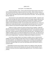 Narrative Essay Conclusion Examples Example Of University Essay An Example Of Essay Good Narrative Essay