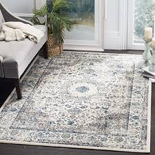 safavieh evoke collection evk220d vintage oriental grey and ivory area rug 8 x 10