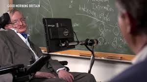 Professor Stephen Hawking says he will travel to SPACE after being.