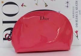 image is loading dior beauty patent leather cosmetics makeup bag