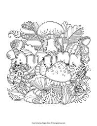 81 autumn & fall coloring pages. Pin On Fall