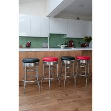 Retro Kitchen Bar Stools Classic Retro American Diner Furniture Accessories From The