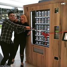 Vending Machine Death Classy Vending Machines Stocked With Paleo And Vegan Foods Unveiled In
