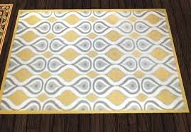 yellow and grey rug critters in the attic yellow grey modern rug yellow gray runner rug