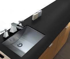 ruvati 21 x 15 brushed stainless steel rectangular bathroom sink undermount rvh6110