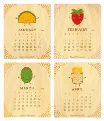 2020 calandars 2020 fun food desk calendar