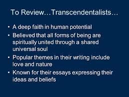 american literature transcendentalism ppt video online transcendentalists