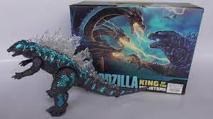 Godzilla ของเล่นเด็กก็อดซิลล่าใส่ถ่านเดินได้ - YouTube