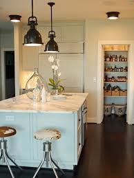 farmhouse kitchen lighting. Farmhouse Kitchen Table With Stool And Pendant Lights Lighting A