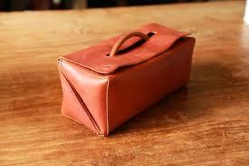 handstitched italian leather toiletry bag traveller dopp kit designer hykc i