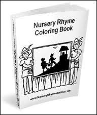 nursery rhyme coloring book gif