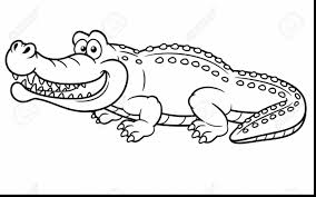 Small Picture unbelievable printable alligator coloring page with alligator