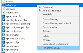 How to change file permissions in WordPress - HostPapa Knowledge Base