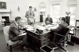 nixon office. H R Haldeman, Richard Nixon, Dwight Chapin, John Ehrlichman Nixon Office