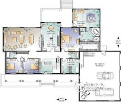 ... Three Car Garage House Plans Sumptuous 4 5 Bedroom With 3 ...