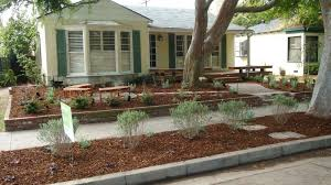Drought Tolerant Front Yard Landscape Design Yard Makeover Home Stretch Drought Resistant Landscaping