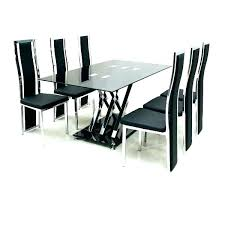 6 seater round dining table chair tables with regard to