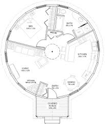 Superior This Yurt Floor Plans Designates About 1/3 Of Overall Floor Space To  Bed/bath. Since Our Bath Is Outside, Imagine The Bath Space As Personal  Office Space, ...