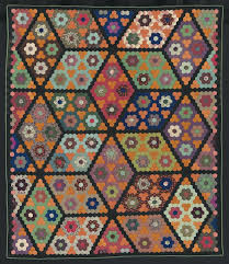 Folk Art Quilts – co-nnect.me & ... Pattern Pumpkins In Field Of Diamonds Quiltamerican About 1860peiced  Wool Plain Weave And Twill Some Printed Folk Art Quilts ... Adamdwight.com
