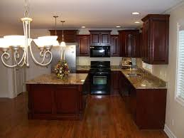 Dark Mahogany Kitchen Cabinets Home Decor In 2019 Mahogany