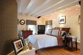 bathroom track lighting ideas. Bathroom Track Lighting Bedroom Contemporary With Beamed Ceiling Bedside Table . Ideas I
