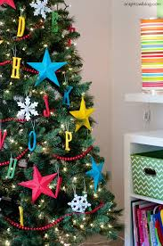 ABC Kids Christmas Ornaments  A Night Owl BlogChristmas Tree Kids