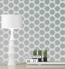 Wall Stencil Patterns Unique Online Shopping India Shop Online For Wall Stencils Wall Painting