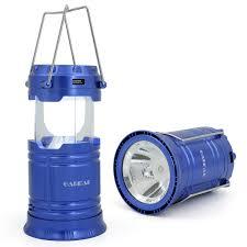 Portable Bright Lights Garmar Camping Lantern Flashlight Solar Portable Outdoor