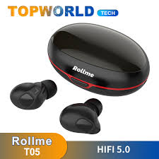 <b>Rollme T05 Tws Wireless</b> bluetooths Earphones 5.0 HiFi Stereo ...