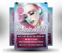 makeup artist flyers templates makeup artist flyer poster psd phototemplate alpha graphs