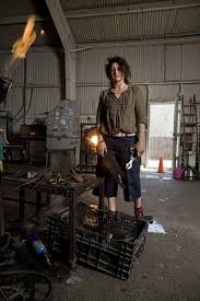 modern blacksmith workshop. portrait displays the subjects in midst of their real creative environments\u2014dusty workshops, hot kitchens and earthy farmlands\u2014tastefully modern blacksmith workshop r
