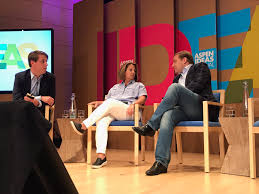 "Dmitri Alperovitch on Twitter: ""Conversing with @vermontgmg and Lisa Monaco  on cyber threats at #AspenIdeas… """