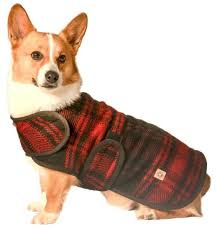 Details About Chilly Dog Sweaters Plaid Red Black 100 Wool Dog Coat Blanket Fleece Lined