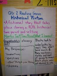 Historical Fiction Anchor Chart Historical Fiction Historical Fiction Mentor Texts