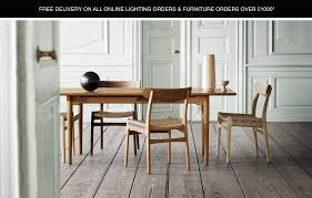 hansen lighting services. ch327 dining table by carl hansen - quickship in time for the festive season hansen lighting services o