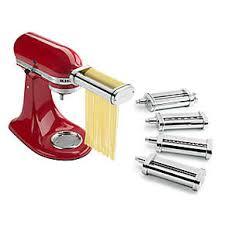 kitchenaid new attachments. 5-piece pasta deluxe set kitchenaid new attachments h
