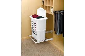 slide out hamper for laundry room or closet
