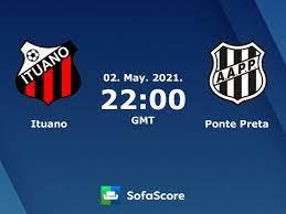 Ituano Ponte Preta live score, video stream and H2H results - SofaScore